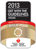 Get With The Guidelines<sup>&reg;</sup>-Stroke Gold Plus Quality Achievement Award