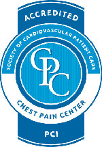 Accredited Chest Pain Center Logo 2012
